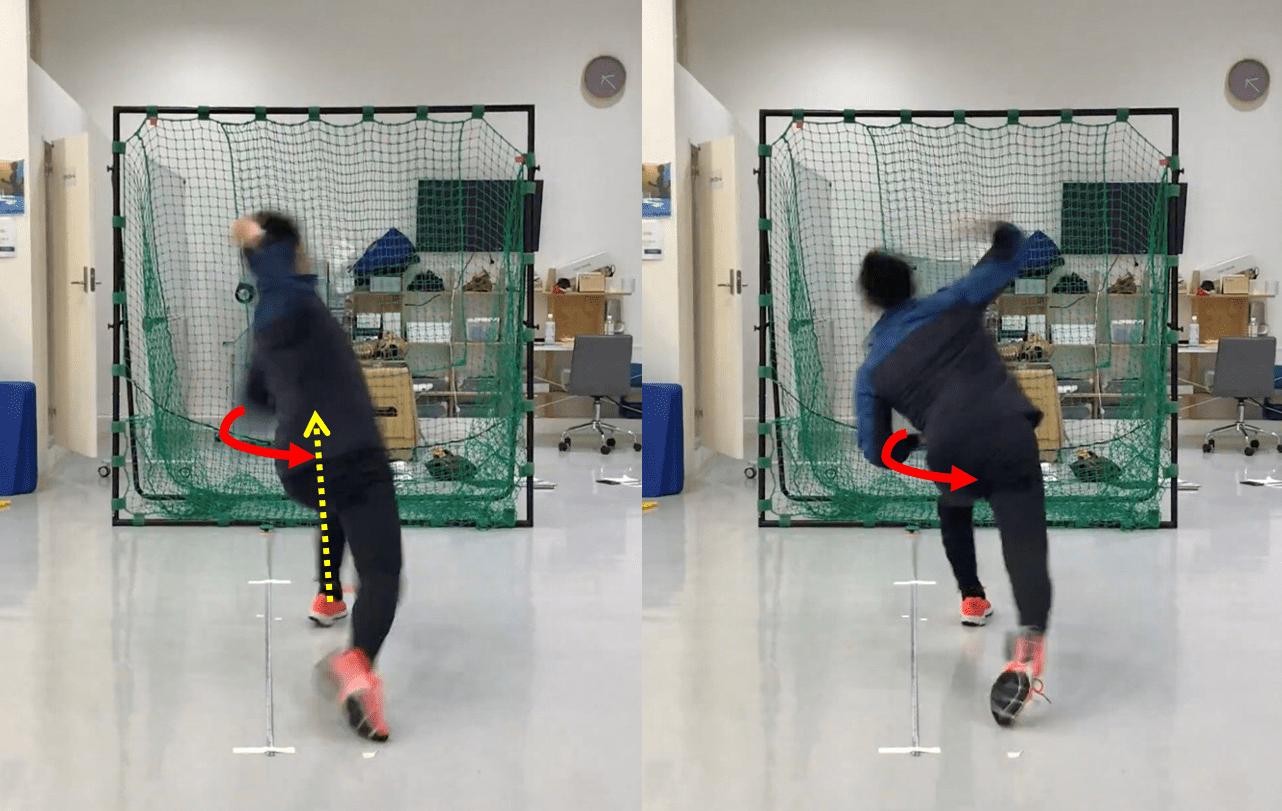 野球肘の予防,肘の角度,投げ方